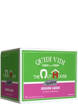 Quidi Vidi The Outhouse Session Lager 12pk Bottles