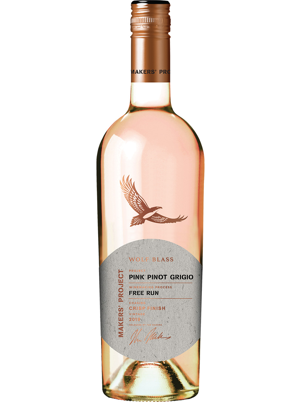 Wolf Blass Makers' Project Pink Pinot Grigio