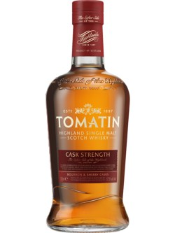 Tomatin Cask Strength Highland Single Malt Whisky