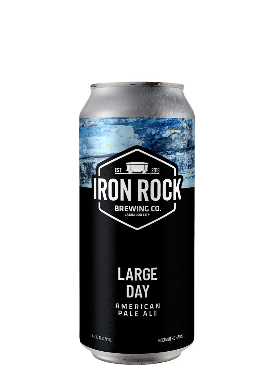 Iron Rock Brewing Co Large Day APA 473ml