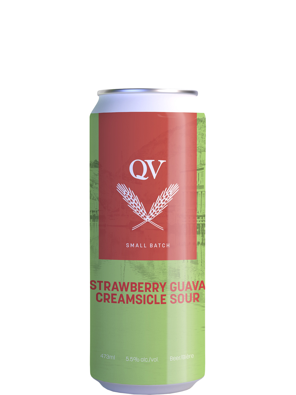Quidi Vidi Strawberry Guava Creamsicle 473ml Can