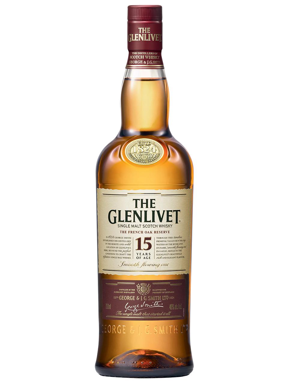 The Glenlivet French Oak Res.15YO Single Malt Scot