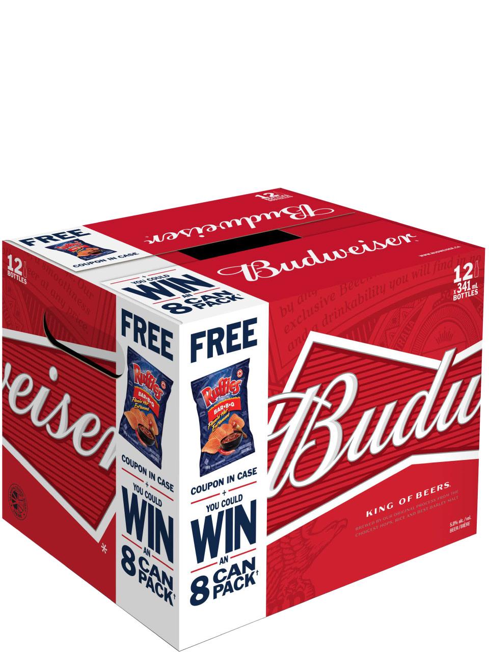 Budweiser 12 Pack Bottles