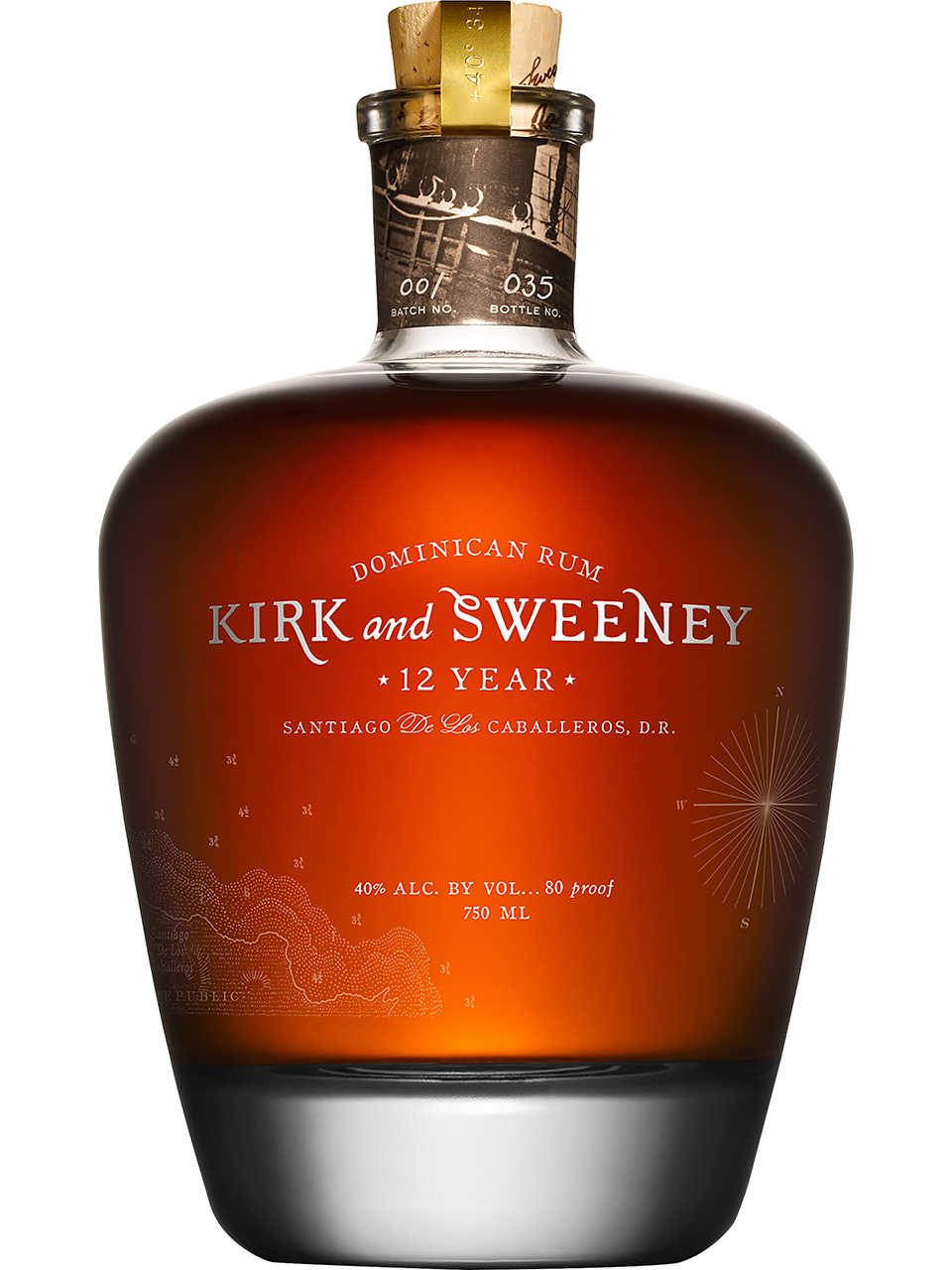 Kirk and Sweeney 12YO Dominican Rum