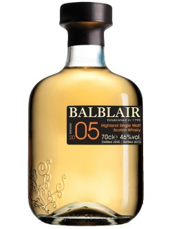 Balblair Highland 2005 Single Malt Scotch Whisky