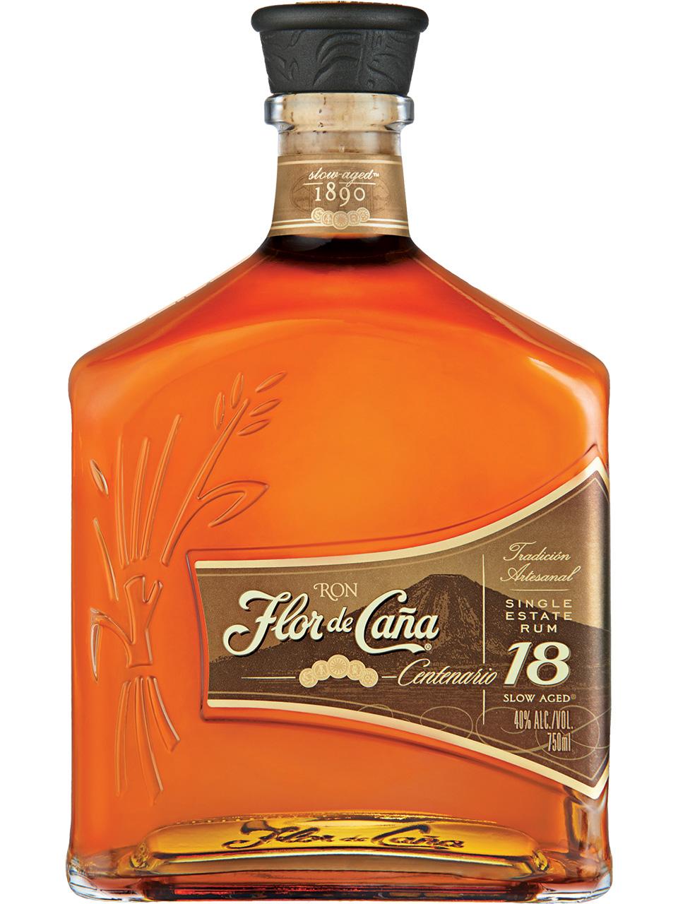 Flor de Cana Centenario 18 YO Rum