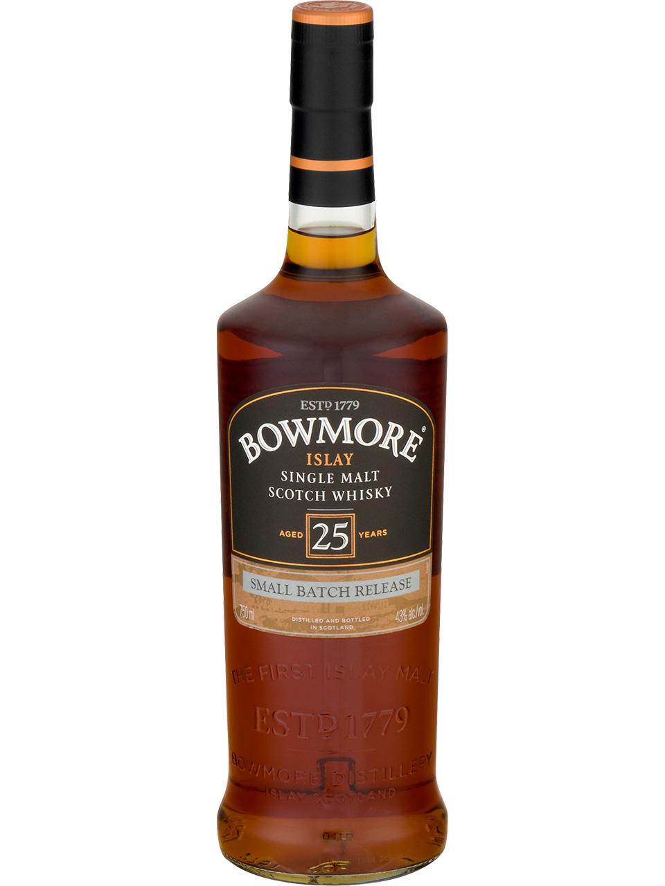 Bowmore 25 YO Single Malt Scotch Whisky