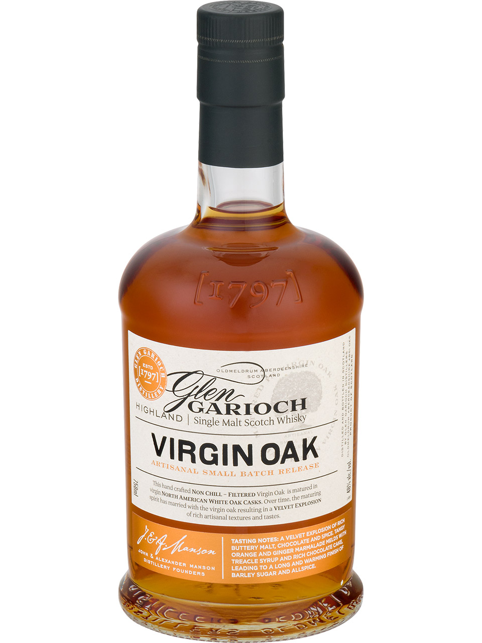 Glen Garioch Virgin Oak Single Malt Scotch Whisky