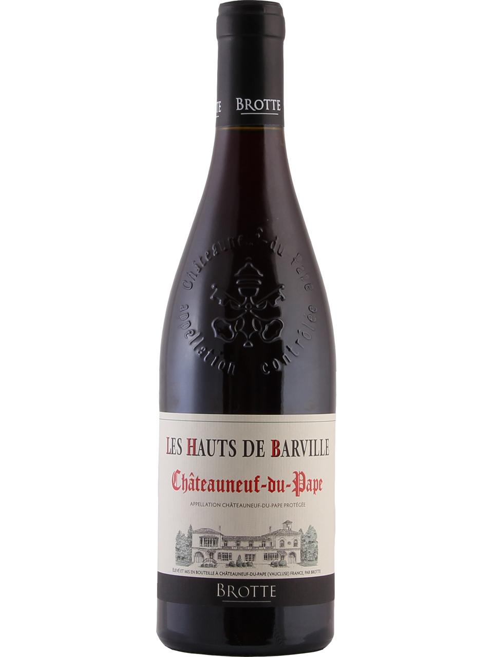 Brotte Chateauneuf-du-Pape Les Hauts Barville Red