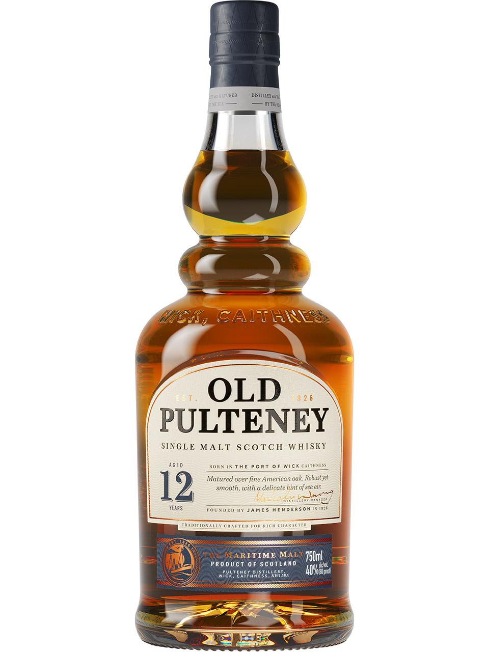 Old Pulteney 12YO Single Malt Scotch Whisky