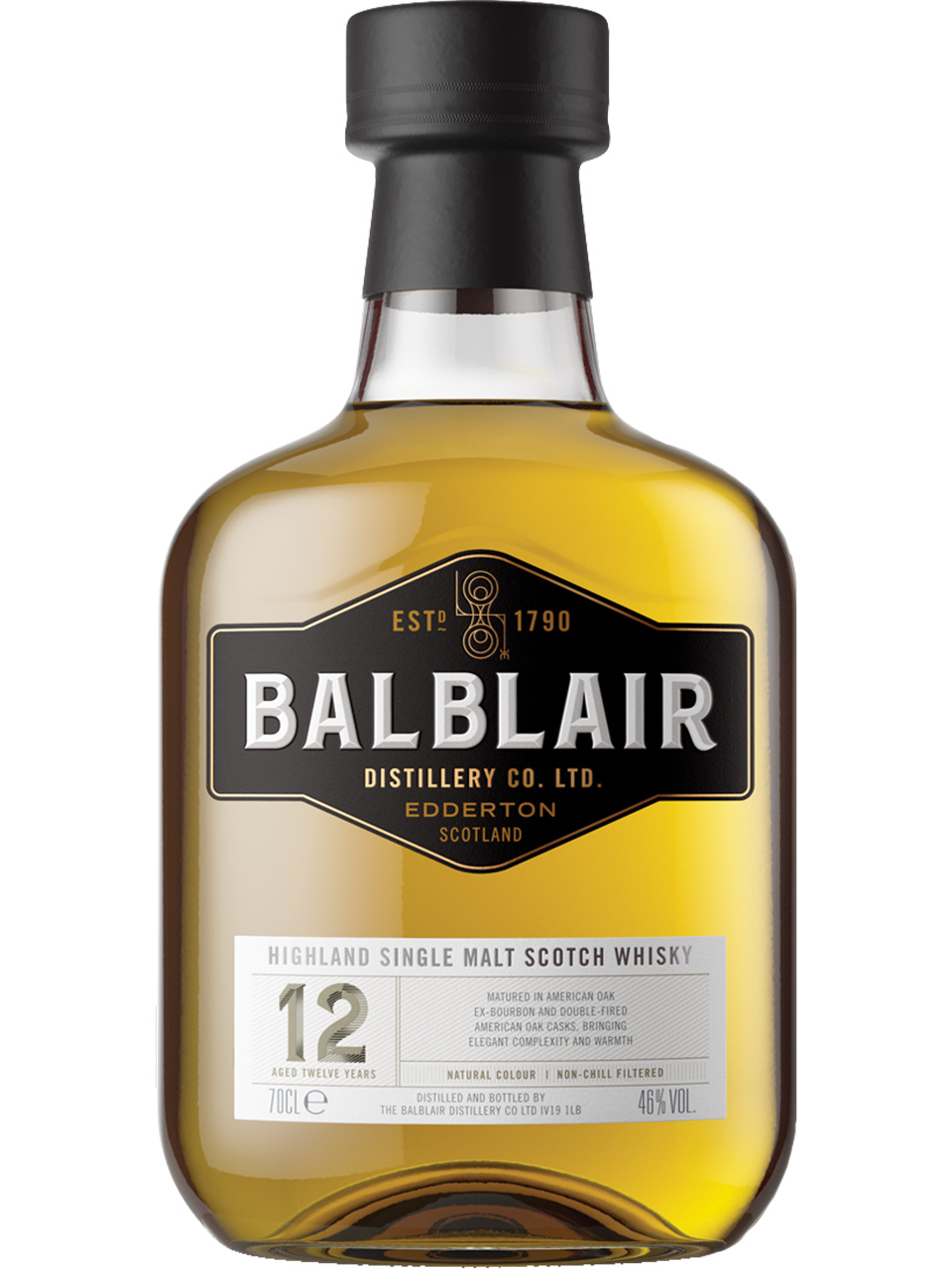 Balblair Highland 12YO Single Malt Scotch Whisky