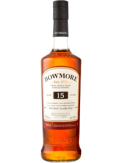 Bowmore 15YO Single Malt Scotch Whisky