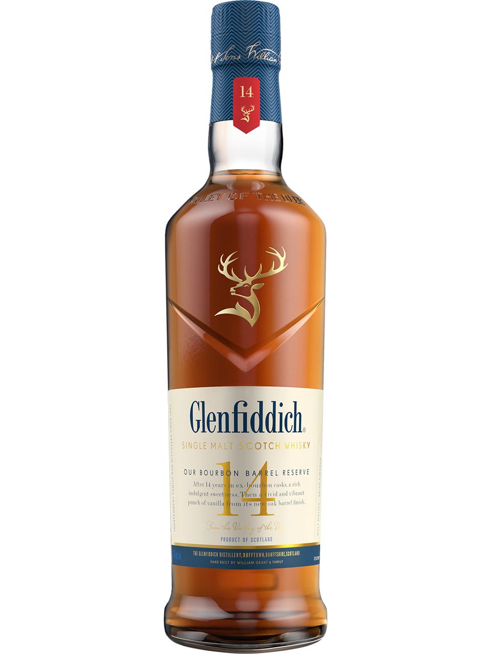 Glenfiddich 14YO Bourbon Barrel Reserve Scotch
