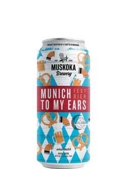 Muskoka Munich To My Ears Fest Bier 473ml Can
