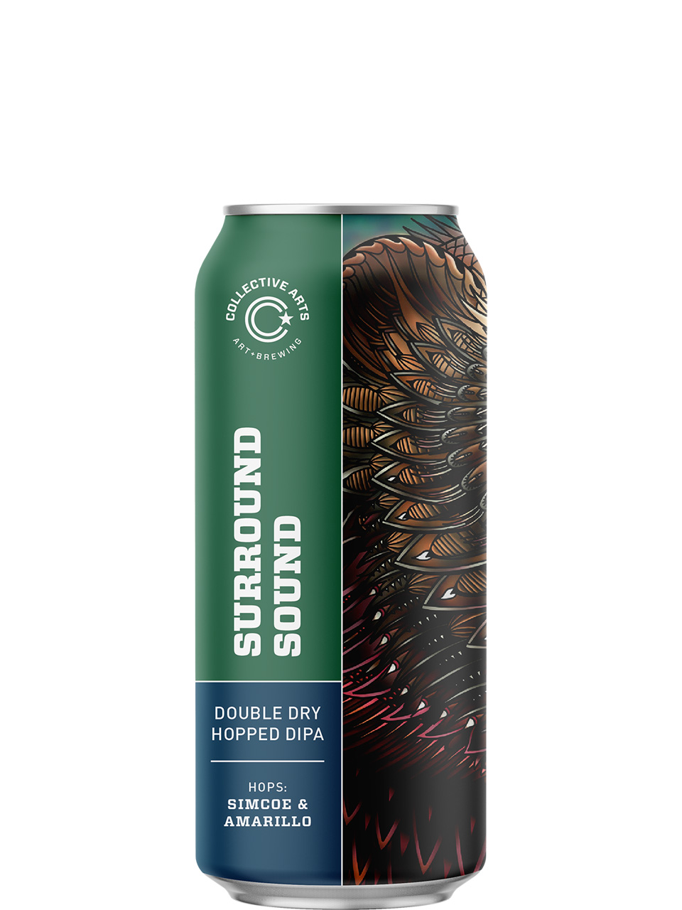 Collective Arts Surround Sound DIPA 473ml Can