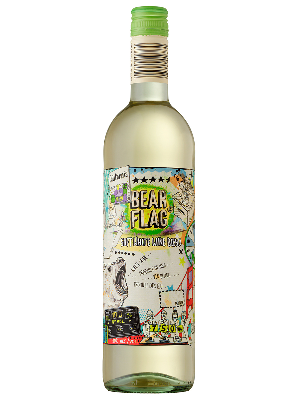 Bear Flag White