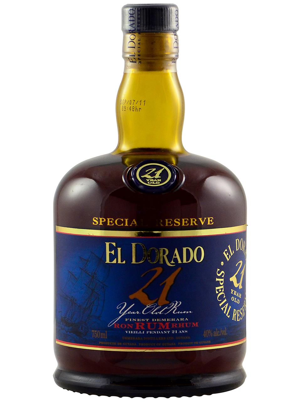 El Dorado 21 Year Old Rum