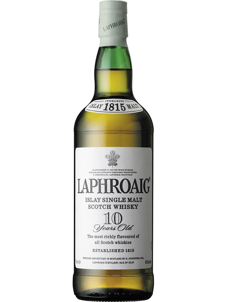 Laphroaig 10 Year Old Scotch Whisky
