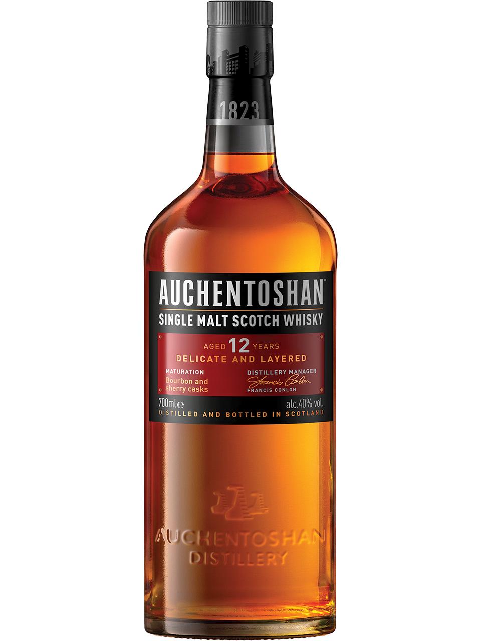 Auchentoshan 12YO Single Malt Scotch Whisky
