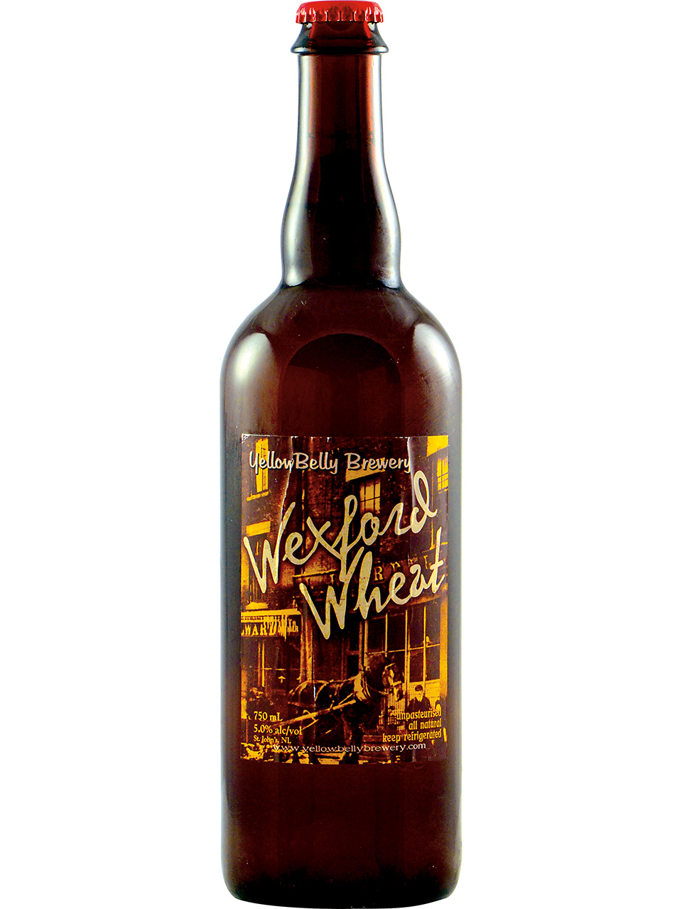 YellowBelly Wexford Wheat Ale 750ml Bottle