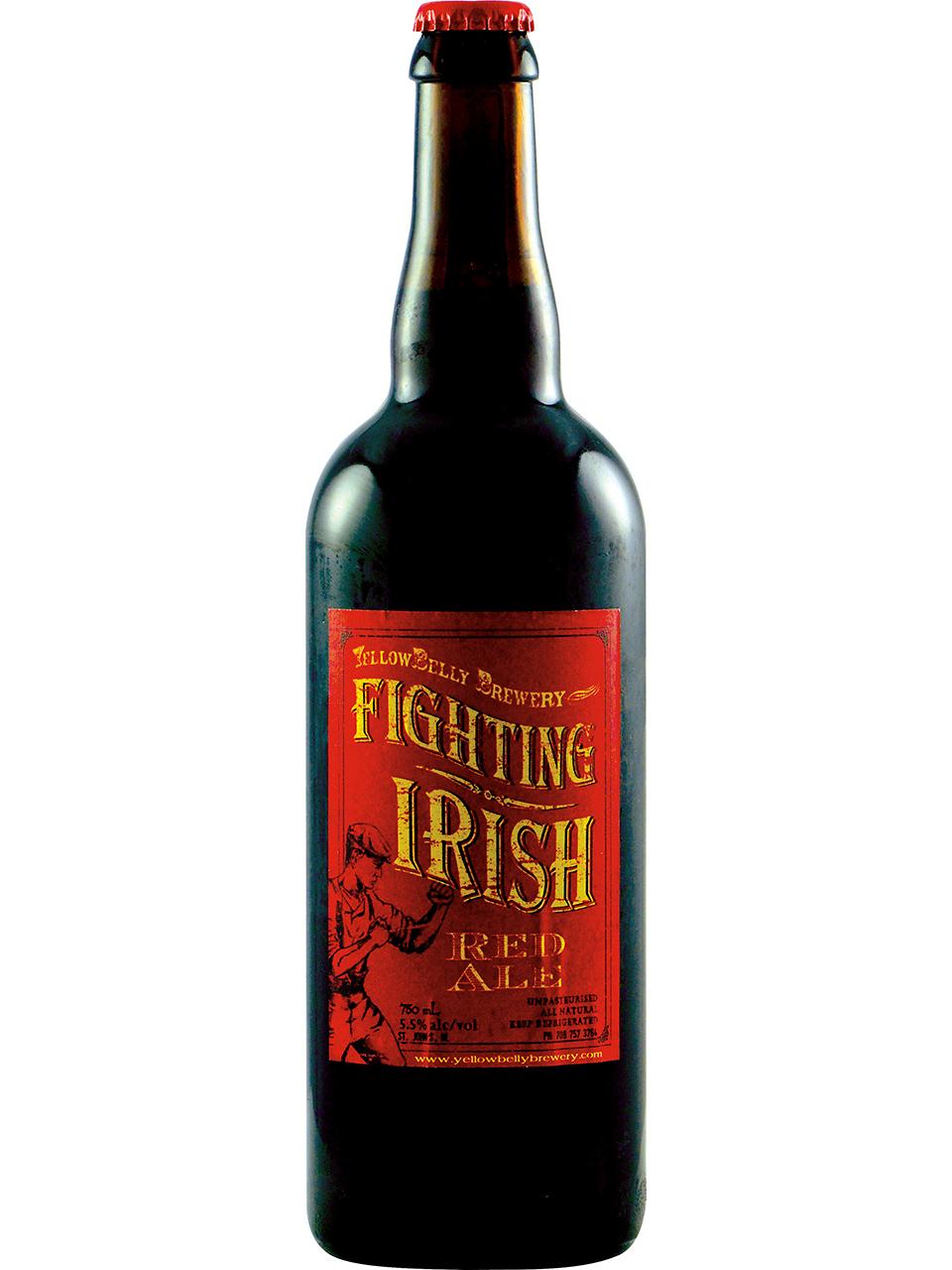 YellowBelly Fighting Irish Red Ale 750ml Bottle