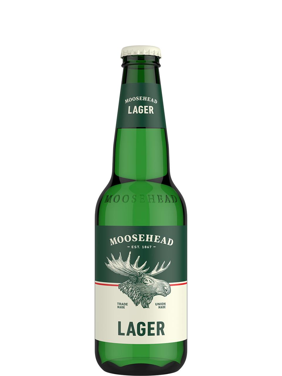 Moosehead Lager 12 Pk Bottles