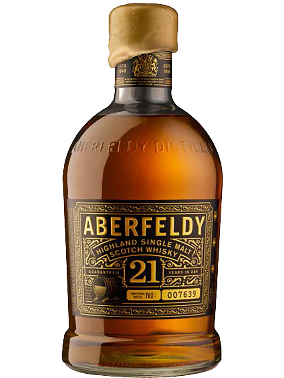 Aberfeldy 21YO Single Malt Scotch Whisky
