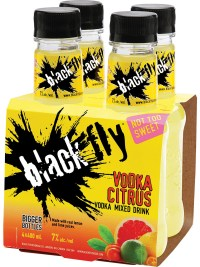 Black Fly Vodka Citrus Mixed Drink 4pk