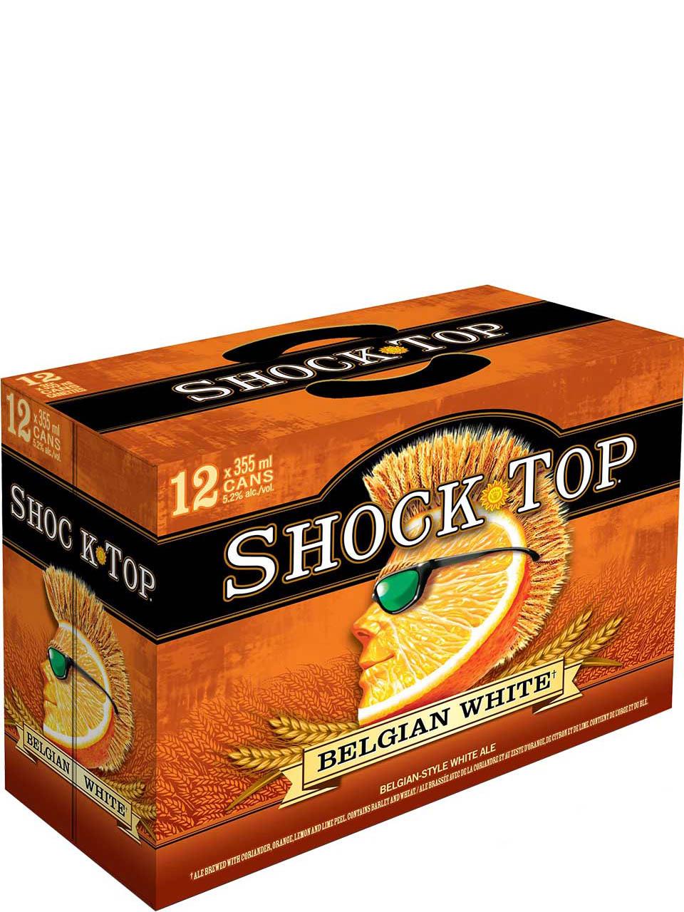 Shock Top Belgian White Ale 12pk