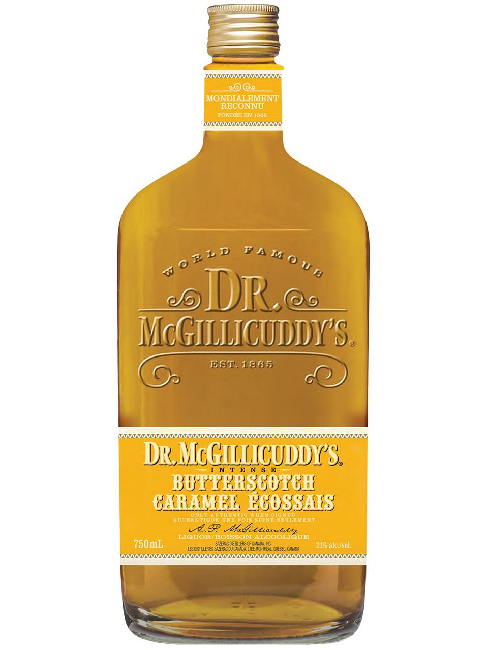 Dr. McGillicuddy's Intense Butterscotch