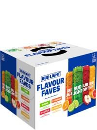Bud Light Flavour Faves Mix 12pk Sleek Cans