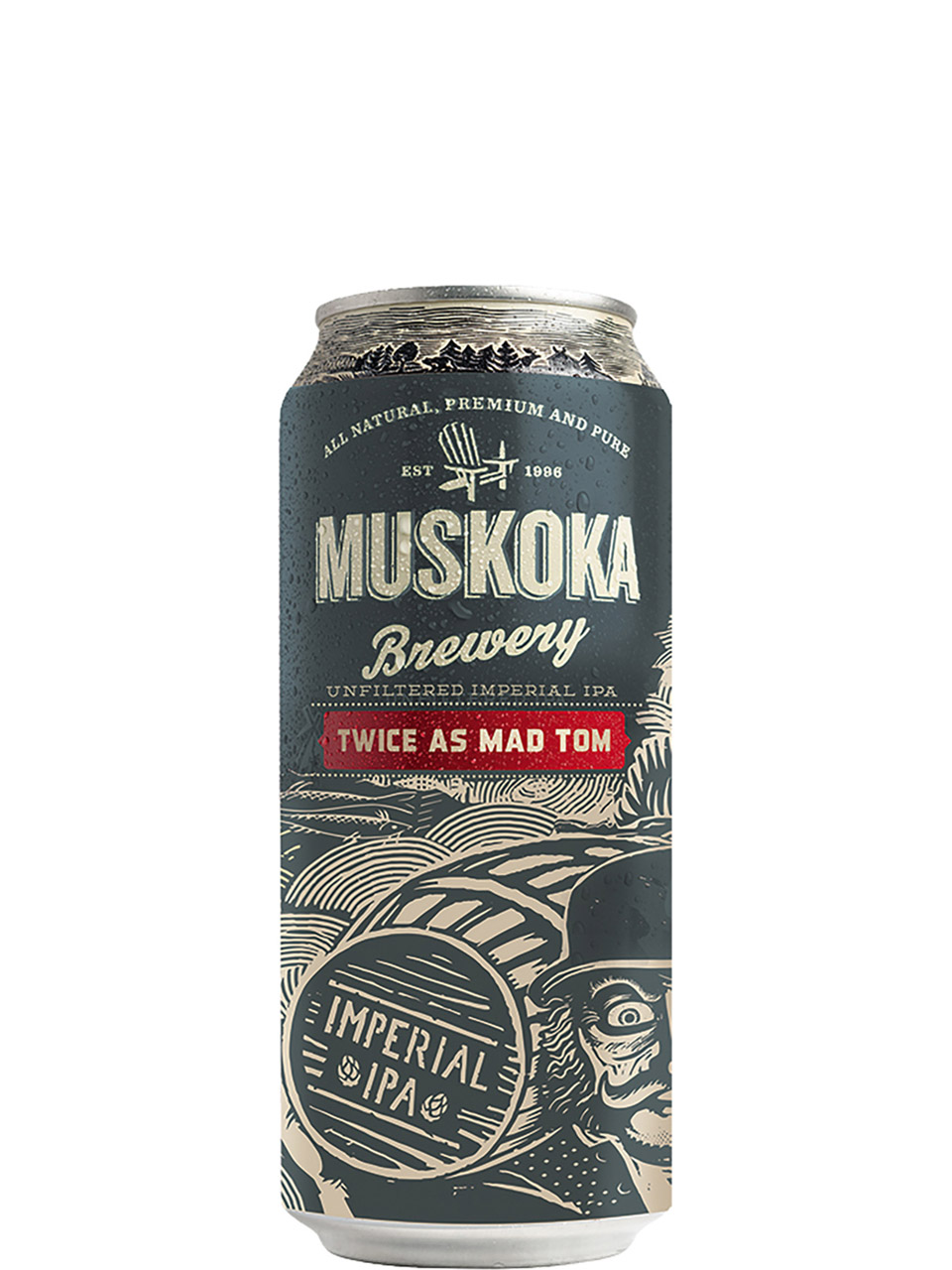 Muskoka Twice as Mad IPA 473ml Can