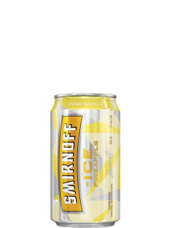 Smirnoff Ice Pineapple 6 Pack Cans