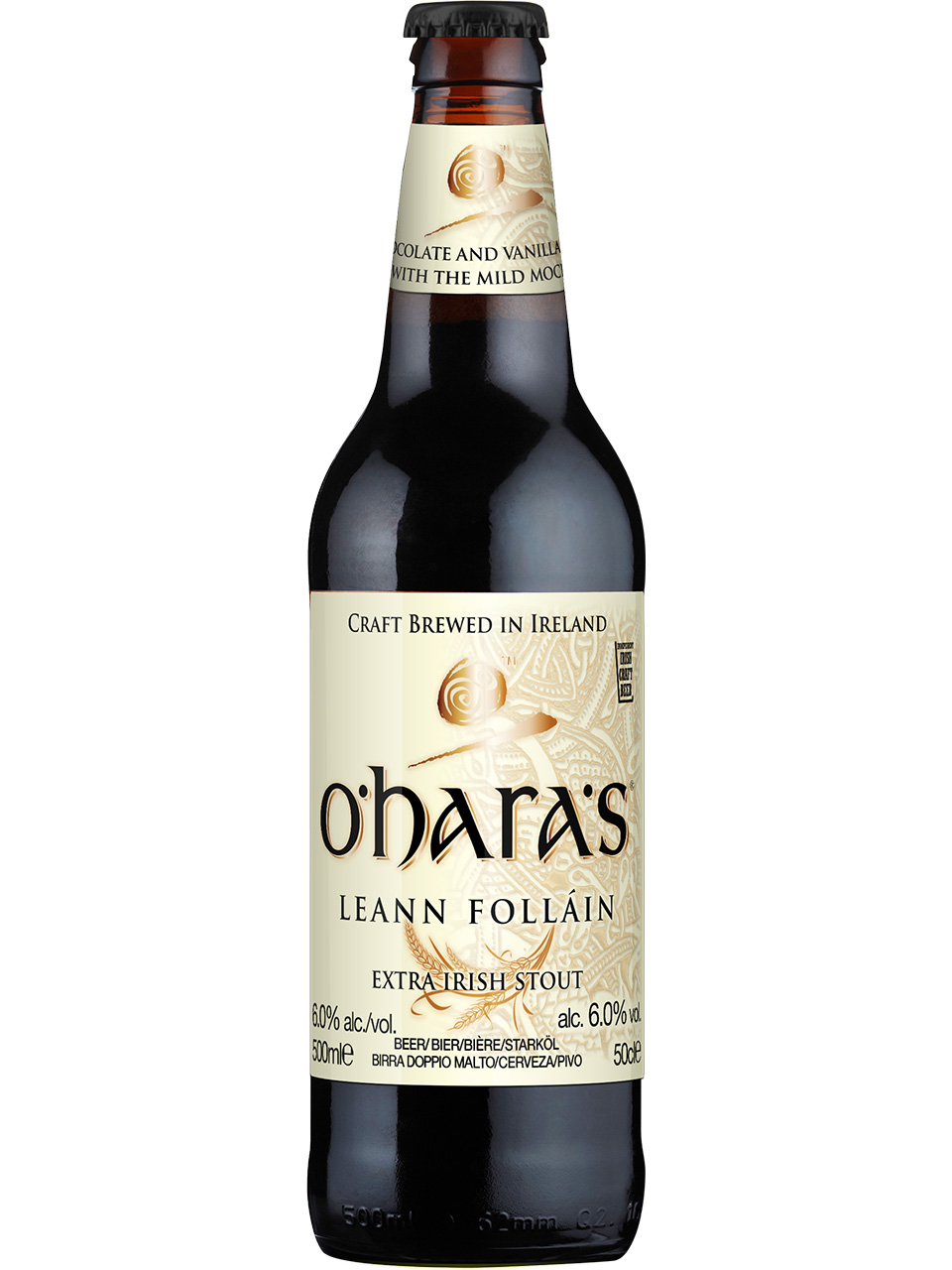 O'hara's Leann Follain 500ml Bottle
