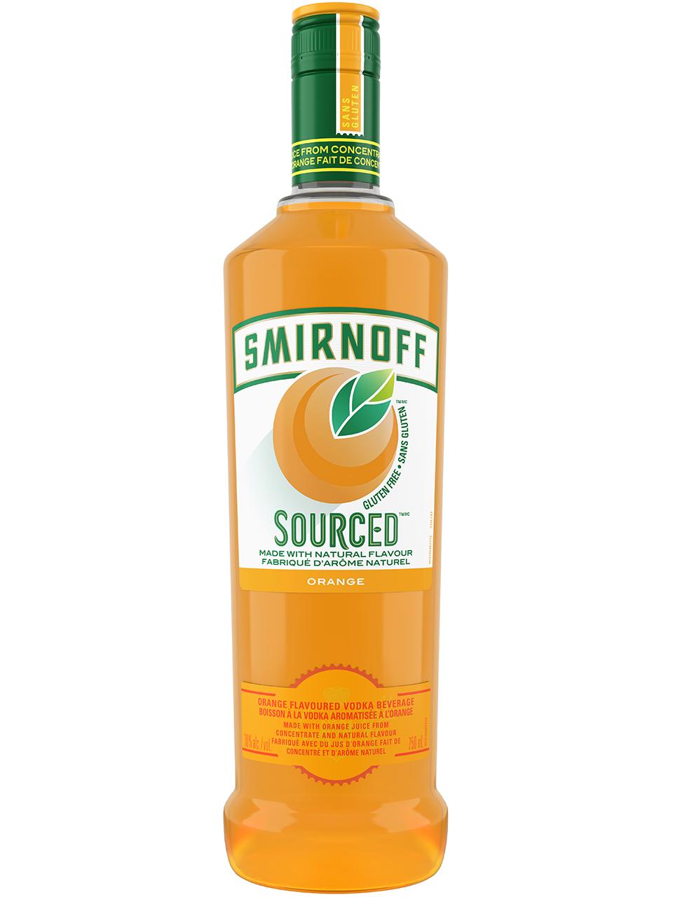 Smirnoff Sourced Orange Vodka