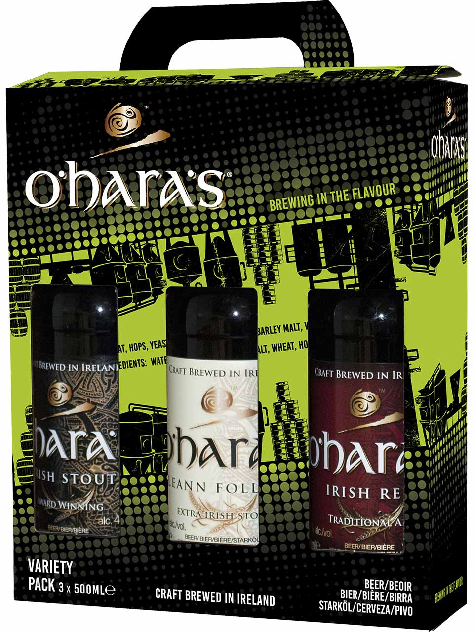 O'hara's Irish Ale 3 Pack Bottles