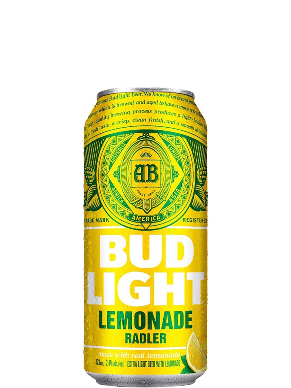 Bud Light Lemonade Radler 473ml Can