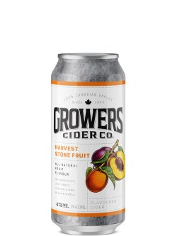 Growers Stone Fruit Cider 473ml Can