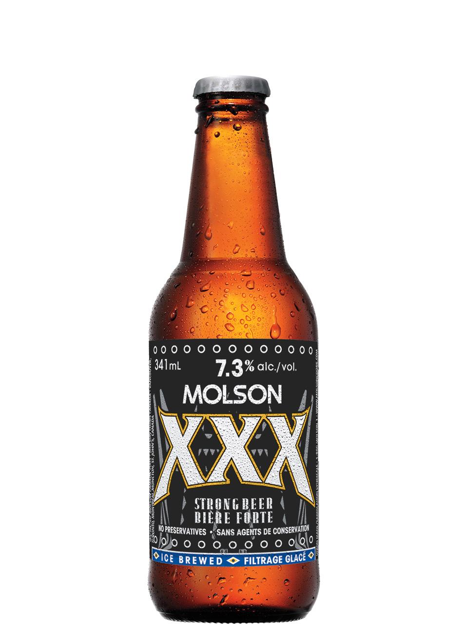 Molson XXX 6 Pack Bottles