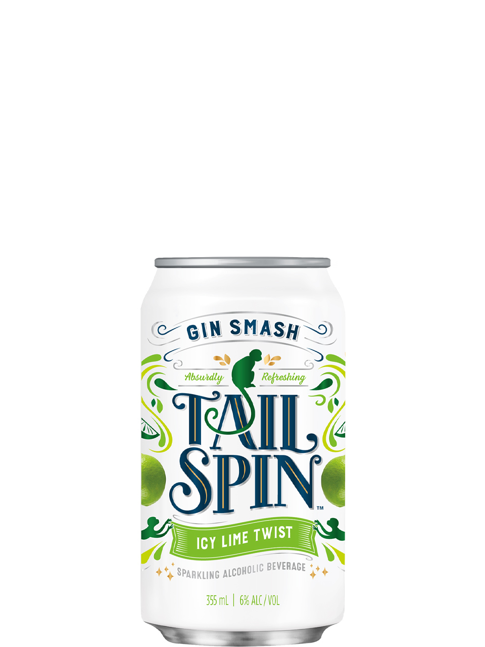 Tail Spin Gin Smash Icy Lime Twist 6 Pack Cans