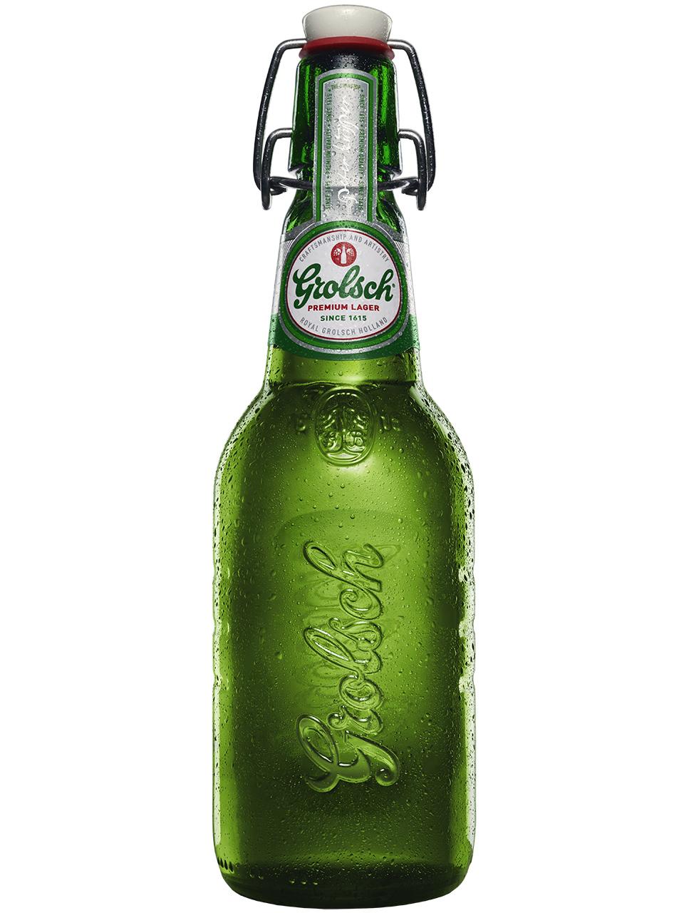 Grolsch Premium Lager 4 Pack Bottles
