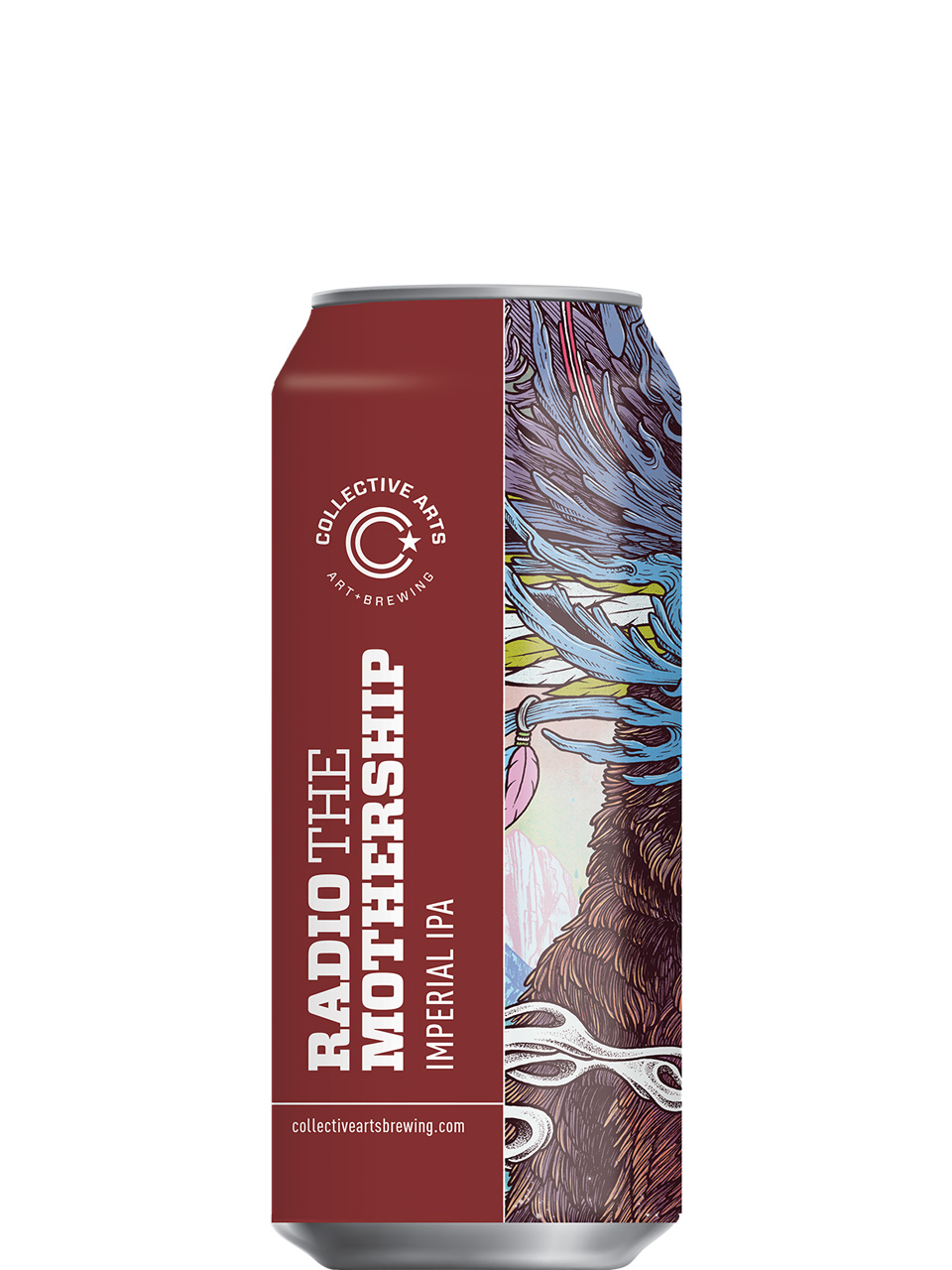 Collective Arts Radio the Mothership Imperial IPA