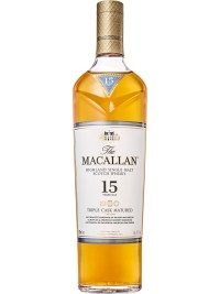 The Macallan Triple Cask 15 YO Single Malt Scotch