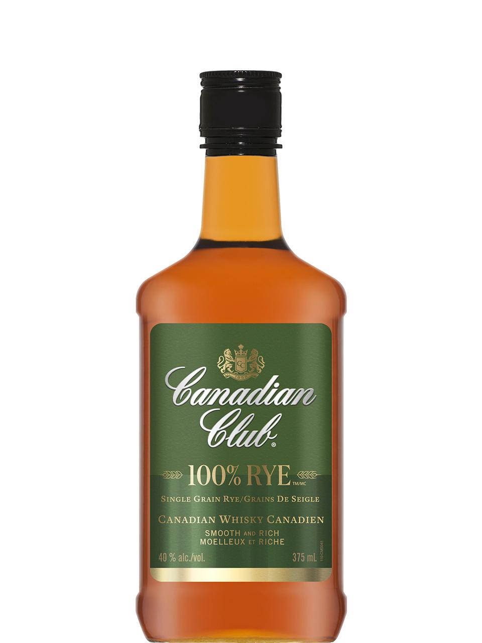 Canadian Club 100% Rye Whisky