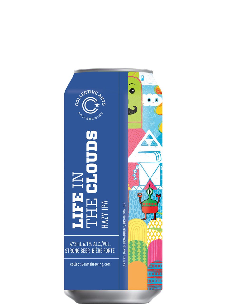 Collective Arts Life in the Clouds Hazy IPA 473ml