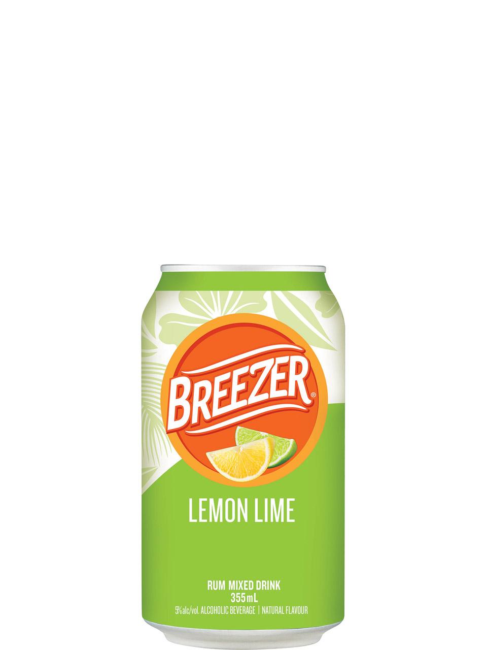Breezer Lemon Lime 6 Pack Cans