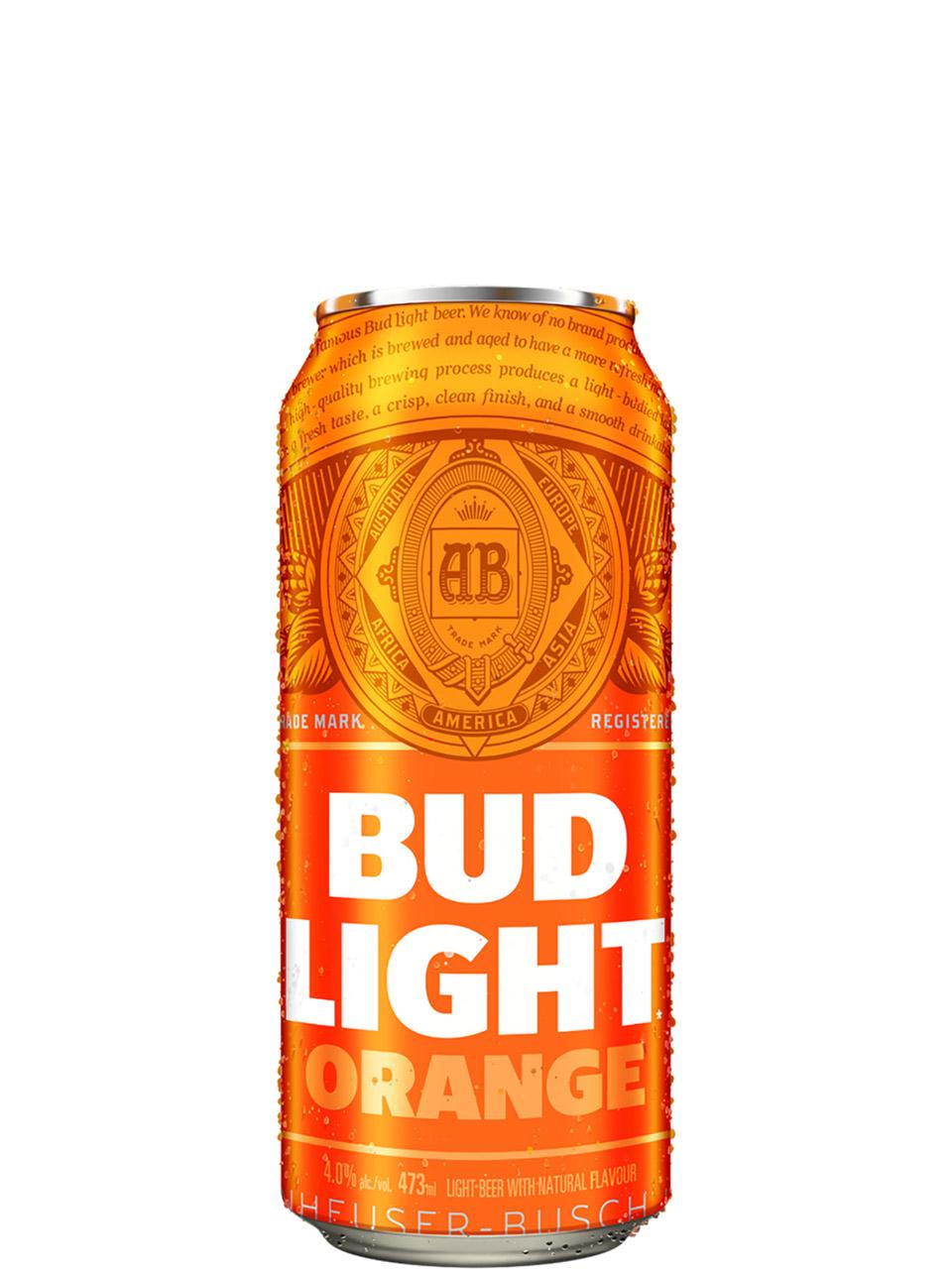 Bud Light Orange 473ml Can