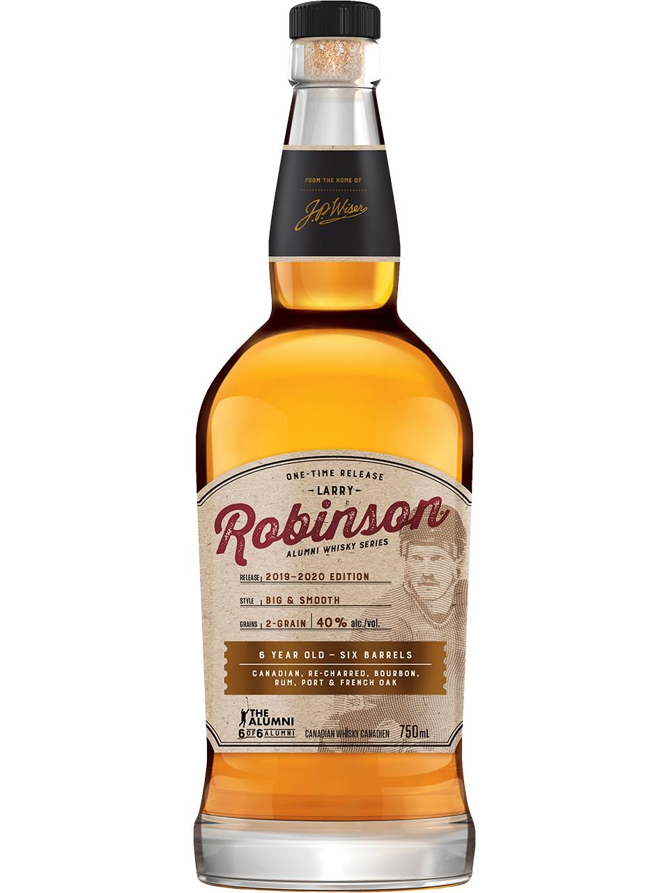 Larry Robinson Alumni Series Whisky