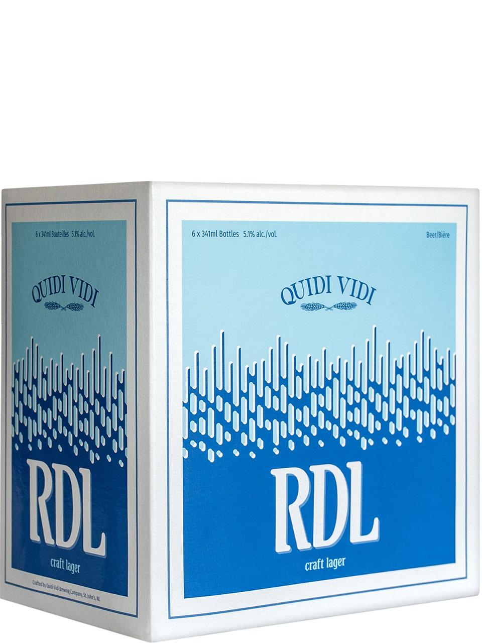 Quidi Vidi RDL Lager 6 Pack Bottles