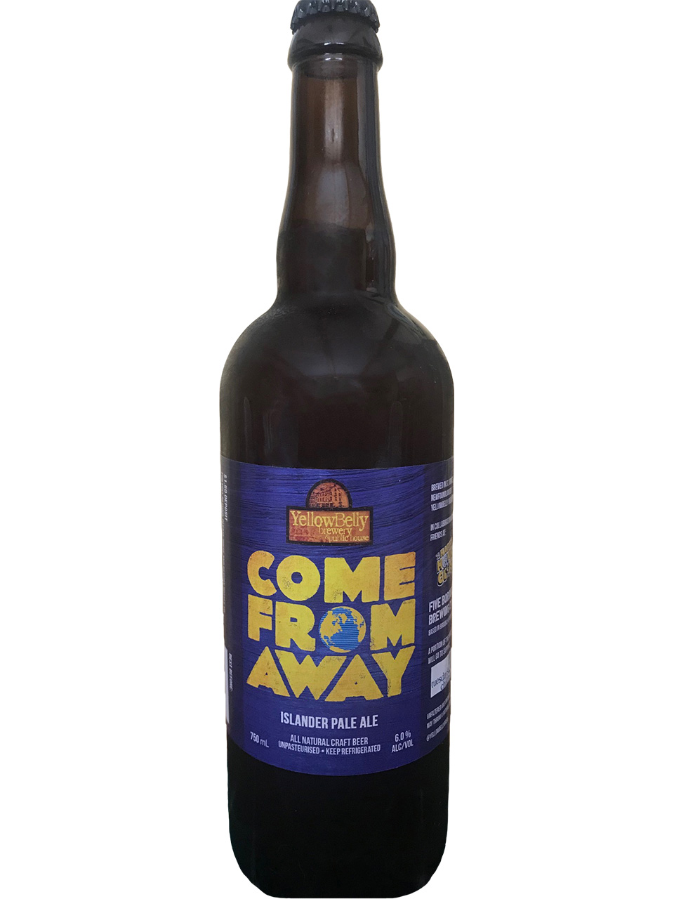 Come From Away Islander Pale Ale 750ml Bottle